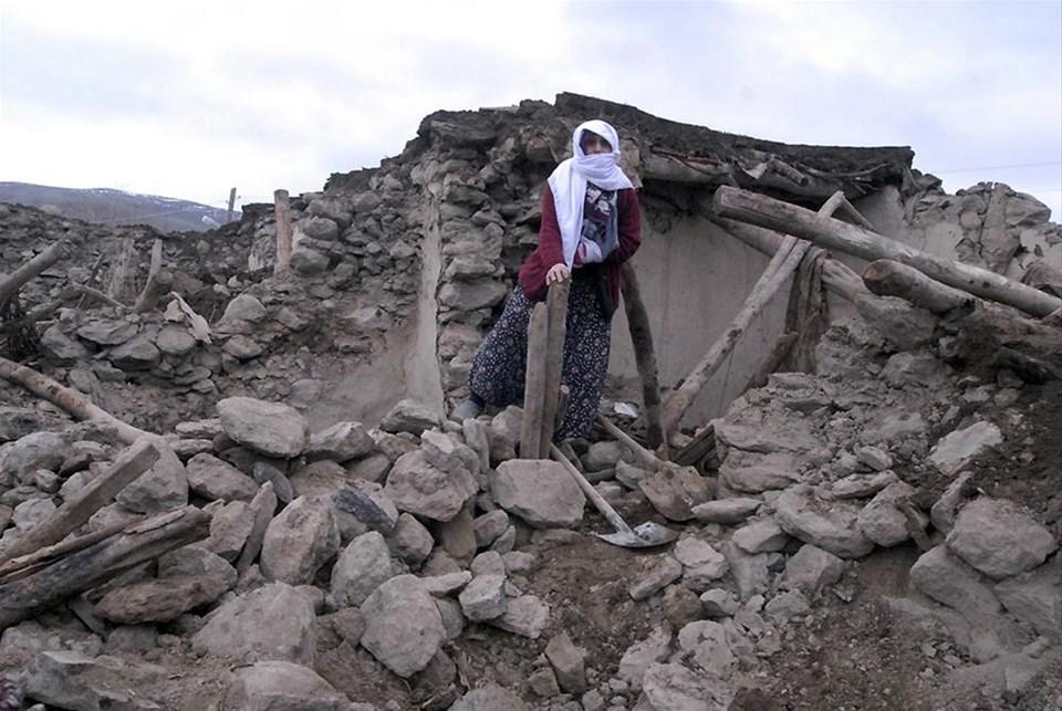 6.0'lık deprem yıktı