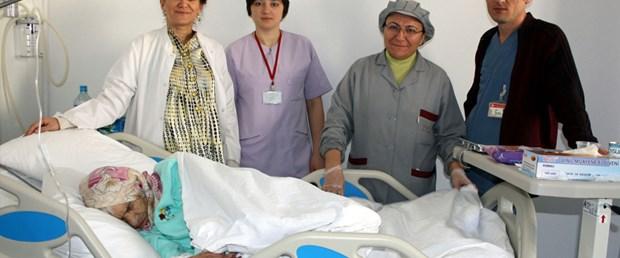 91 yaşındaki kadını hastanede terk ettiler