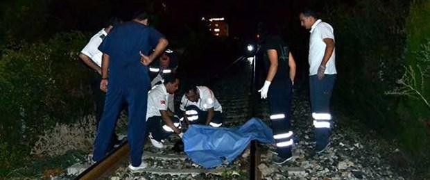92 yaşındaki kadına tren çarptı