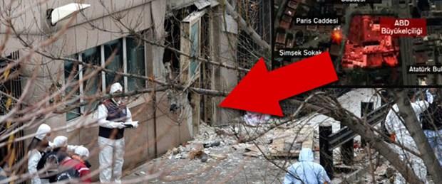 ABD Büyükelçiliği'nde patlama: 2 ölü