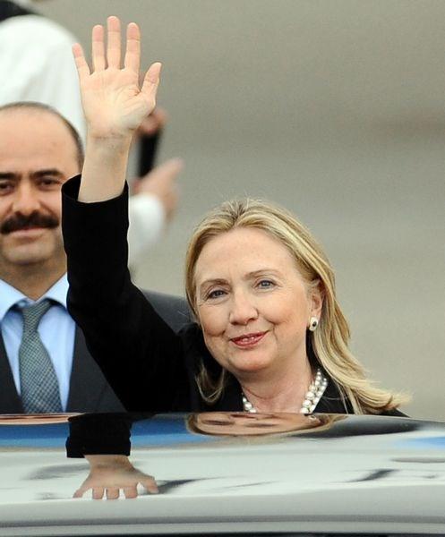 ABD Dışişleri Bakanı Clinton Türkiye'de