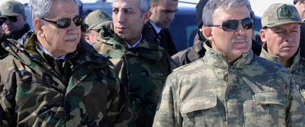 Abdullah Gül ilk kez tatbikatta