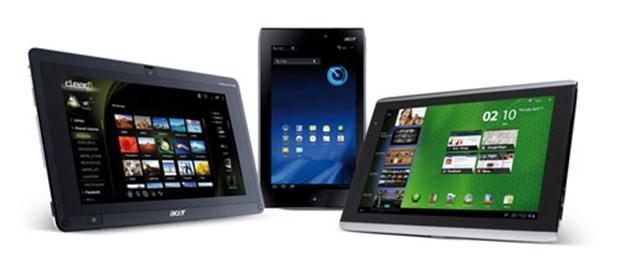 Acer tablet yağdırdı