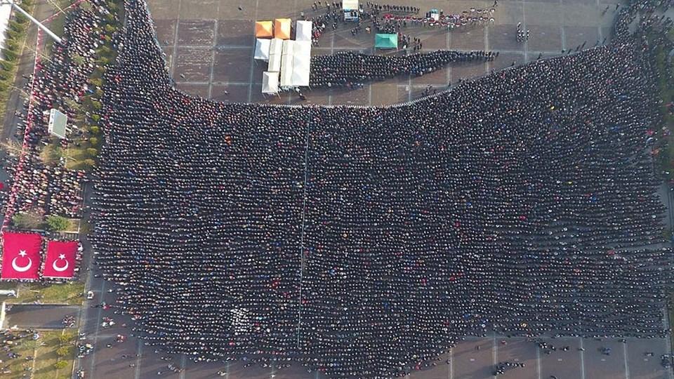 Şehit Akpınar'ı on binler uğurladı...
