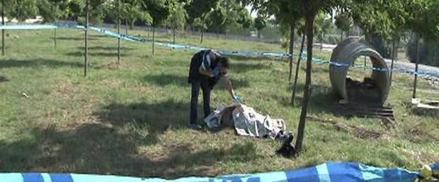 Ağaçlık alanda kadın cesedi bulundu