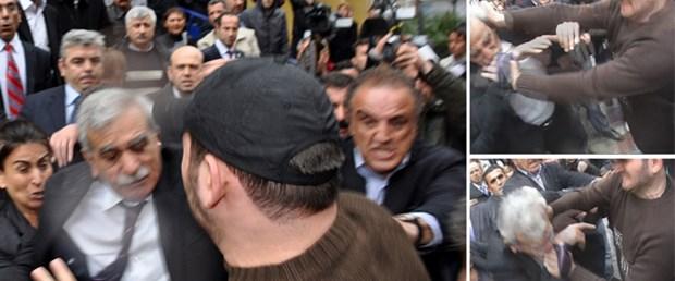 Ahmet Türk'e yumruk görevden etti