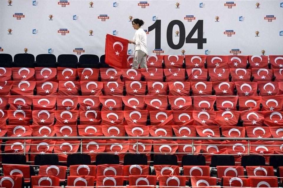 AKP kongreye hazır