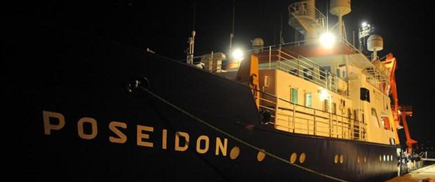 Alman araştırma gemisi Türkiye'de
