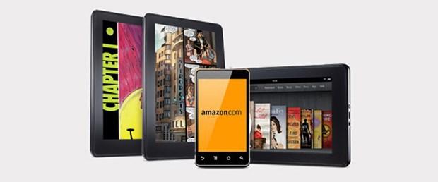 'Amazon 3D telefon üretecek'