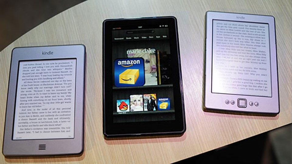 Amazon Kindle Touch, Kindle ve Fire