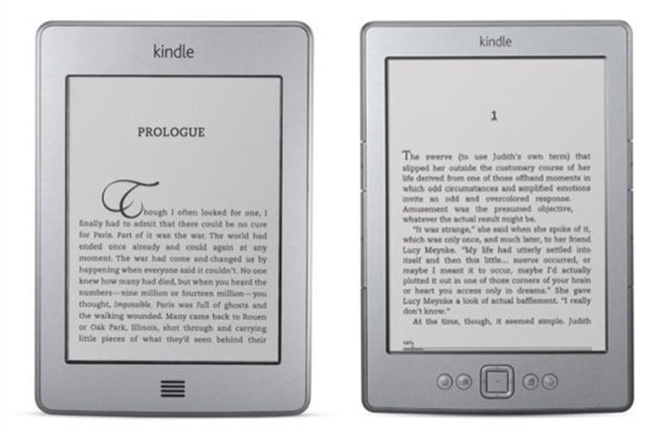 Kindle Touch ve Kindle
