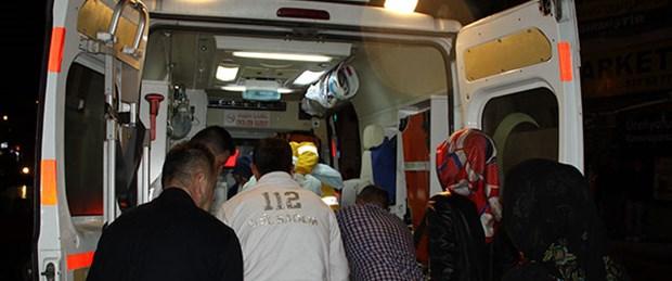 Ambulans tankerle çarpıştı