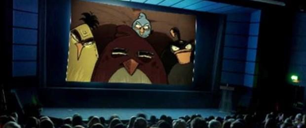 'Angry Birds' film oluyor