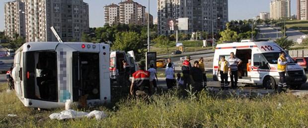 Ankara güne kazayla uyandı: 2 ölü, 30 yaralı