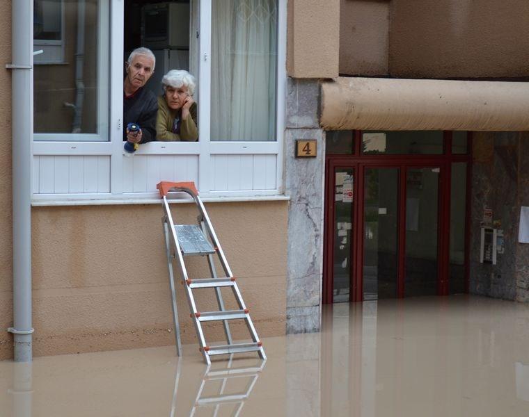 Ankara yine sular altında