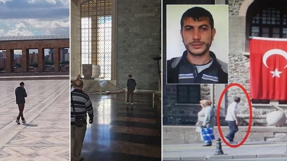Emniyet güçleri DAEŞ'li Ahmet Balık'ın Anıtkabir'de üç kez eylem amacıyla keşfe çıktığını tespit etmişti.