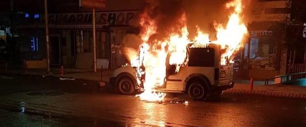 ankara otomobil yangını