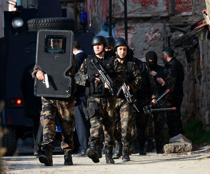 Ankara'da 'özel' operasyon