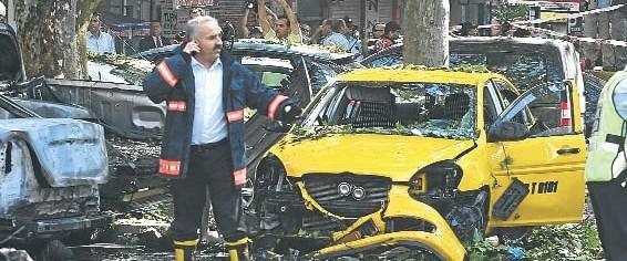 Ankara'daki patlamada taşeron şüphesi