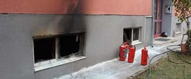 Anne ve iki oğlu yangın kurbanı