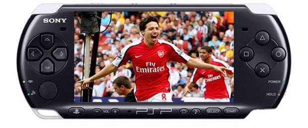 Arsenal'in golleri PSP'ye geliyor