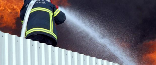 Ataköy'de yangın