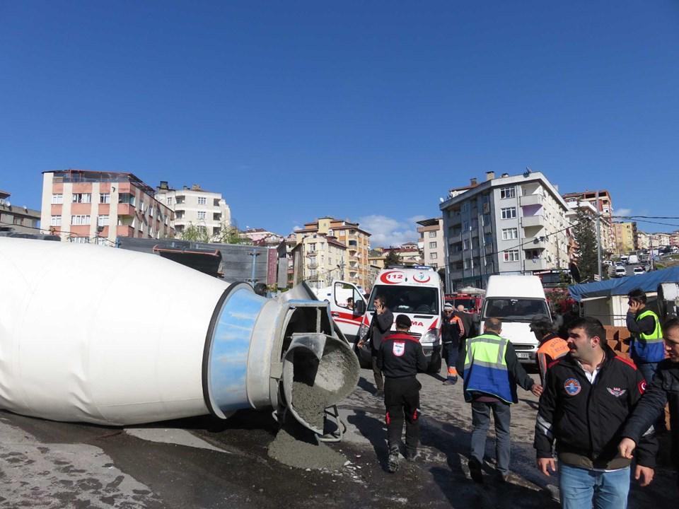 Ataşehir'de beton mikseri faciası: 2 ölü