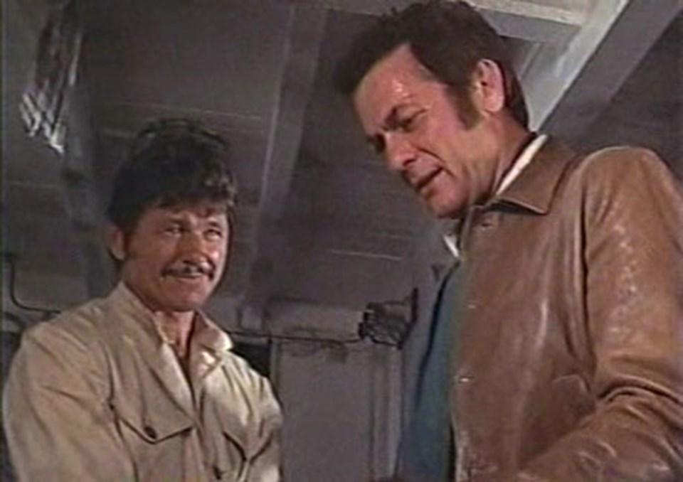 Filmin başrollerinde dönemin iki büyük yıldızı Tony Curtis ve Charles Bronson var.