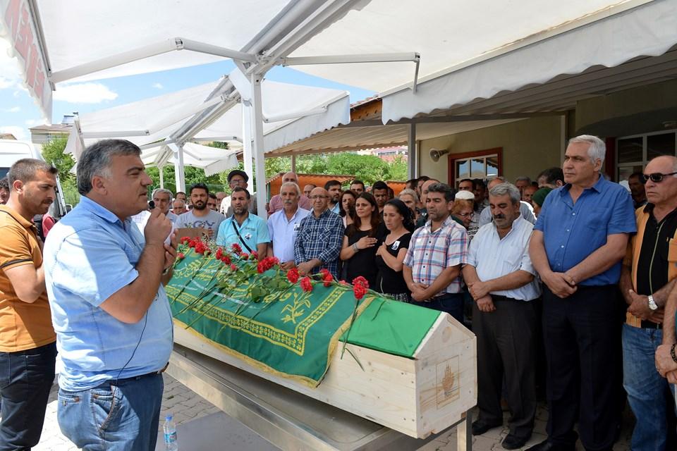 Ertan An'ın cenazesinden