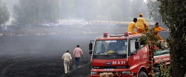 Atatürk Orman Çiftliği'nde yangın çıktı