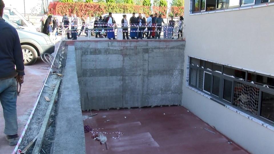 Avcılar'da kapalı semt pazarında ihmal iddiası: Bir kadın ağır yaralandı