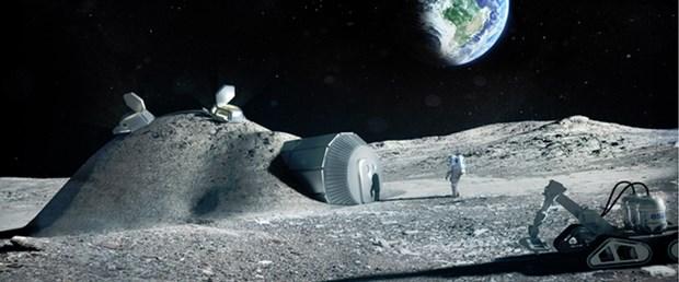 'Ay üsleri 3D yazıcı ile inşa edilecek'