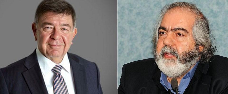 Şahin Alpay (solda) ve Mehmet Altan