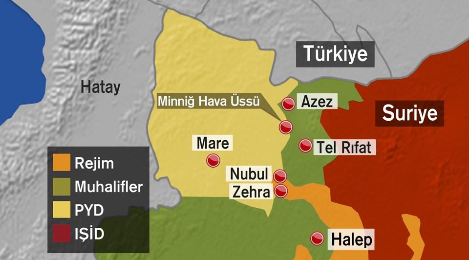 Kilis'ingüneyi son durum: Suriyeli muhalifler IŞİD, PYG ve Esad güçleri arasında sıkıştı.
