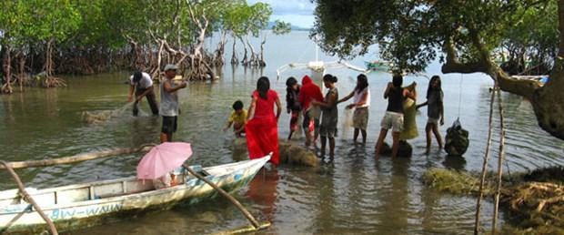 Balıkçı ağlarından halı üretecekler