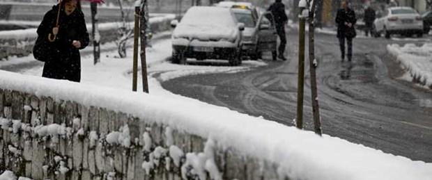 Balkanlar'dan kar ve soğuk hava geliyor