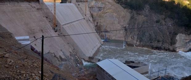Baraj faciasında 2 tutuklama