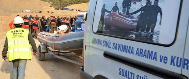 Barajda kaza: 2 ceset bulundu, 8 işçi kayıp