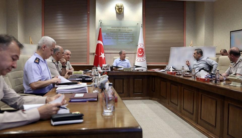 Barış Pınarı Harekatı: MSB'de harekat toplantısı