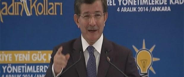 Başbakan Davutoğlu annelere seslendi