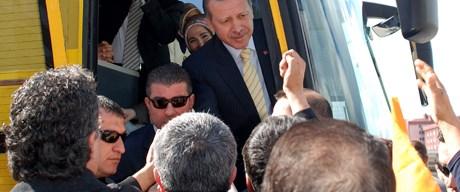 'Başbakan ensemi sıktı'