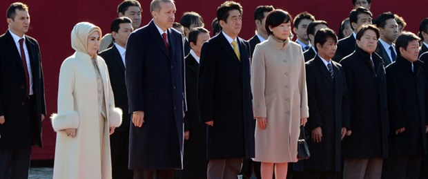 Başbakan Erdoğan Japonya'da