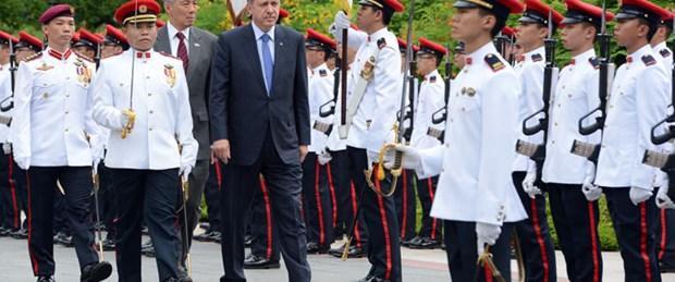 Başbakan Erdoğan Singapur'da