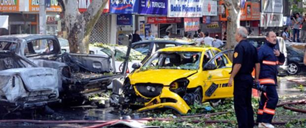 Başkent'te intihar bombası alarmı