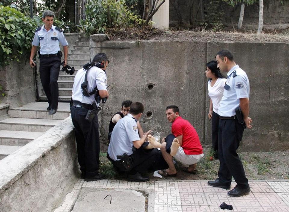 Başkent'te polis hırsız kovalamacası