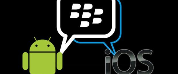 BBM efsanesi iOS ve Android'e geldi