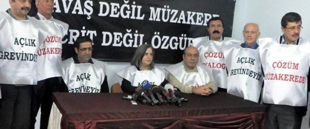BDP'li vekiller açlık grevine başladı