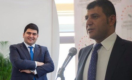 Mahmut Sami Boydak (solda) ve Bekir Boydak