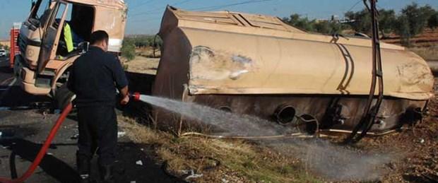 Benzin tankerinde patlama: 1 ölü