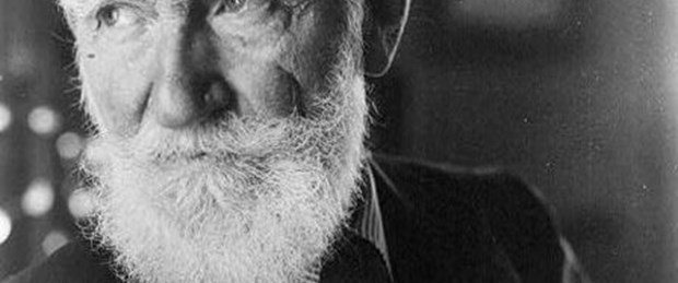 Bernard Shaw'un fotoğrafları internette